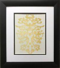 "Andy Warhol ""Rorschach 4"" 1984 CUSTOM FRAMED Pop Art Psychology Psychiatry Test"
