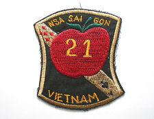Patch - US ARMY NSA SAI GON #21 PATCH VIETNAM