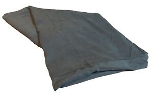 55''x37''x4'' Durable Grey Suede Bed Cover for X-Large Dogs [COVER ONLY]