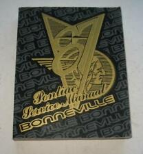 1987 Pontiac Bonneville Original Dealership Service Dept Shop Manual