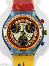 SWATCH original Swiss made CHRONO SCZ104 quartz watch New old stock