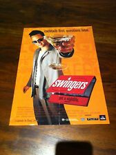 SWINGERS MOVIE Flyer Poster Jon Favreau Vince Vaughn Doug Liman Comedy