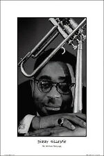 Dizzy Gillespie By Ted Williams Music Poster Print Trumpet Jazz New 24x36 HS2013