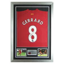 unterzeichnet Steven Gerrard 2013-14 Liverpool FC no.8 Hemd