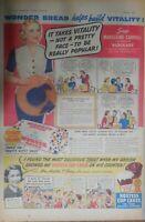 Wonder Bread Ad: Hollywood Star Madeleine Carroll 1938 Size: 15 x 22 Inches
