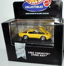 1982 CORVETTE STINGRAY~MAKO SHARK, Black, Hot Wheels 1:64, NEW in Box!