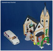 Gebrauchtes Playmobil® - Zusammengestelltes - Set *Hochzeitskirche mit Limousine