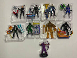Marvel  Universe Avengers 3.75 Lot of 9 Characters Loose Never Played With