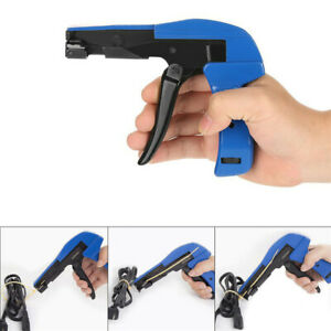 Industrial Zip Tie Gun Tension Fastening Tool 1 Motion Tie & Cut Off Cable Ties