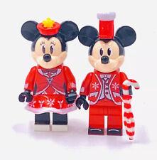 Christmas Mickey And Minnie Mouse Custom Figure #35