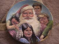 ROYAL GRAFTON MY SANTA CHRISTMAS PLATE, GREGORY PERILLO
