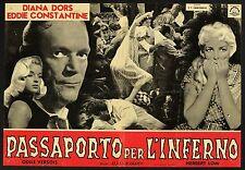 FOTOBUSTA 2, PASSAPORTO PER L'INFERNO Passport to Shame DIANA DORS, POSTER