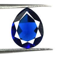 Blue Sapphire Natural 2.00 Carat Ceylon Loose Gemstone Pear Cut AGSL Certified