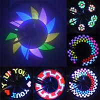 32LED Bicycle Light Colorful Bike Wheel Spoke Light Cycling Tire Signal Lamp CHZ
