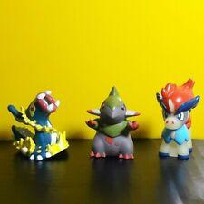 3 Pcs. 2012 Pokemon Finger Puppet Bandai Nintendo Monster Official Toys Set