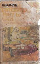 PONTIAC FIREBIRD INCL ESPRIT FORMULA TRANS AM & TURBO 1967 - 1981 REPAIR MANUAL