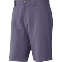 "Adidas Golf Shorts Ultimate 365 Badge of Sport 32"" FL5565 Tech Purple New"