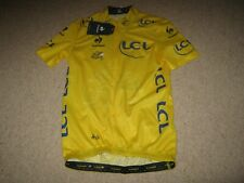 TOUR DE FRANCE 2014 LCS YELLOW LEADERS CYCLING JERSEY [S adult] BNWT