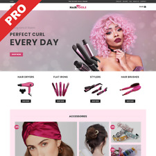 Hair Tools Professional Dropshipping Store Turnkey Online Business Website