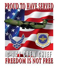 C-141 Starlifter Crew Chief Garden Flag