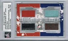 2010-11 ITG ULTIMATE MEMORABILIA RIVALRY MAURICE RICHARD DURNAN BRODA KENNEDY /9