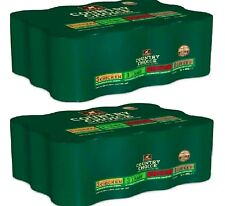 More details for gelert country choice x24 - 400g (12pack x2) - wet dog food bp tinned feed vf 24