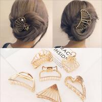 Fashion Hair Claws for Women Hair Barrette Hairpin Crab Metal Hair Claws Clips#