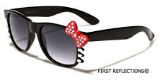 Hello Kitty Women's Rhinestone Sunglasses with Bow Party Glasses Black White Red