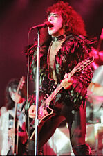 """12""""*8"""" concert photo of Paul Stanley playing with Kiss at Wembley in 1980"""