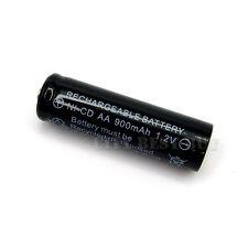 1 x AA 900mAh NiCd Ni-Cd 1.2V Solar Rechargeable Battery BLK