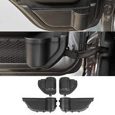 For 2018-2020 Jeep JL Unlimited JT Front Rear Door Pocket Organizer Storage Box