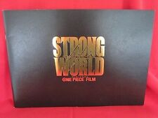 """One Piece the movie """"Strong world"""" memorial art guide book"""