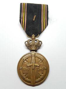O15A) Belle médaille BELGE 39/45  Royaume de BELGIQUE belgian medal