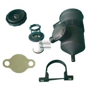 Universal Oil Catch Can fit Hilux Prado D4D 3.0L 200 Turbo EGR Block Off Plate