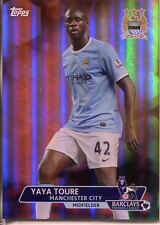 TOPPS Premier Gold FOOTBALL 13/14 Arancione PARALLELA BASE CARD #49 Yaya Toure