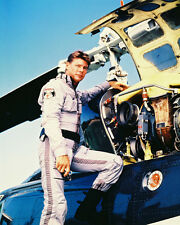 AIRWOLF JAN-MICHAEL VINCENT 8X10 PHOTO