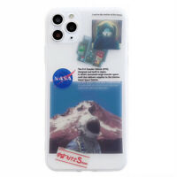 Nasa Astronaut Translucent Phone Cover Case For iPhone 11 Pro Max XR XS SE 2nd