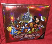 NEW WALT DISNEY WORLD PARKS WDW PHOTO ALBUM 50 Pages Holds 200 4x6 Photos Mickey