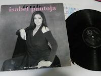 "ISABEL PANTOJA de Nadie LP Vinyl 12 "" 1993 Spanisch Ersten Press G VG Rca"