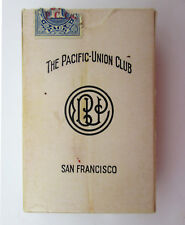 Vintage Pacific-Union Club San Francisco Playing Cards Bridge Size ONLY 50 CARDS