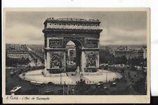 """l""""arc de triomphe,paris ,france postcard early 1900s"""