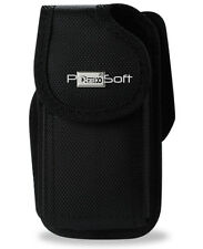 BLACK Ballistic Nylon Tactical Holster Pouch Case Belt Clip for LARGE PHONES New