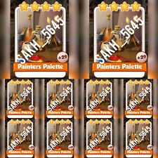 10 x painters Palette :- Artist set :- Coin Master Cards ( Fastest Delivery )