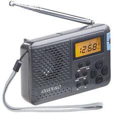 Kofferradio: 12-Band-Weltempfänger FM/MW/KW, mit Wecker & Sleeptimer