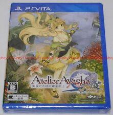 New PS Vita Atelier Ayesha The Alchemist of Dusk Plus import Japan PlayStation