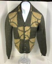 Brentwood Sportswear Mirapaca Button Sweater Size Small Wool/Alpaca Vintage
