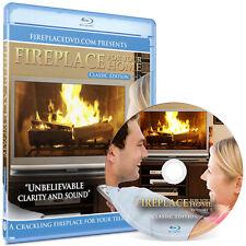 Crackling Fireplace Blu-ray: Classic Edition #5 - 1080 HD