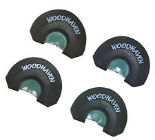New WoodHaven Custom Calls Ninja 4 Pack Diaphragm Turkey Mouth Call Model# WH139