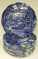 Enoch Wedgewood Dickens Coaching Days Plate set of 12.  20cm