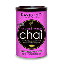 Chai Mix Flamingo Vanilla 11.9 Ounce Gluten Free With Organic Natural Spices NEW